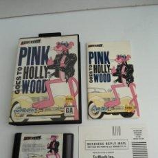 Videojuegos y Consolas: PINK PANTHER GOES TO HOLLYWOOD - GENESIS (USA)- SEGA - COMPLETO CON INSTRUCCIONES - EXCELENTE ESTADO. Lote 109319195