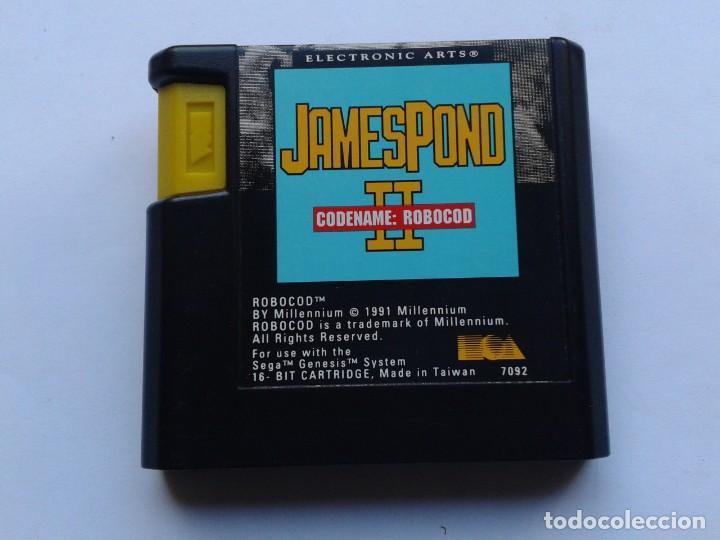 JUEGO SEGA MEGA DRIVE JAMES POND II 2 CODENAME: ROBOCOD SOLO CARTUCHO CART PAL R6901 (Juguetes - Videojuegos y Consolas - Sega - MegaDrive)