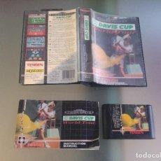 Videojuegos y Consolas: DAVIS CUP SEGA MEGADRIVE COMPLETO PAL-EUROPA. Lote 158312422