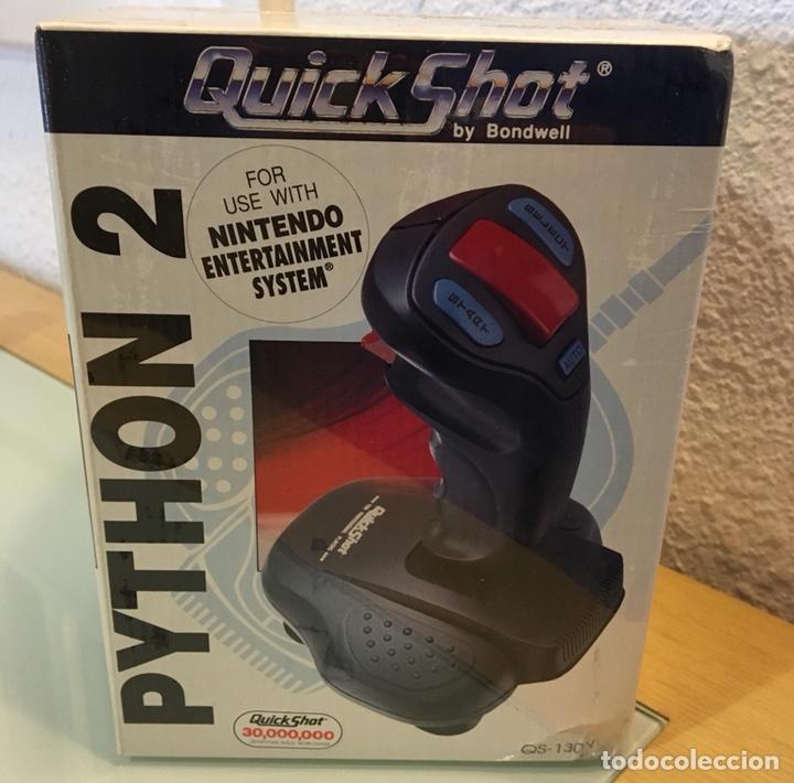 QUICKSHOT PYTHON 2 SEGA MEGA DRIVE (Juguetes - Videojuegos y Consolas - Sega - MegaDrive)