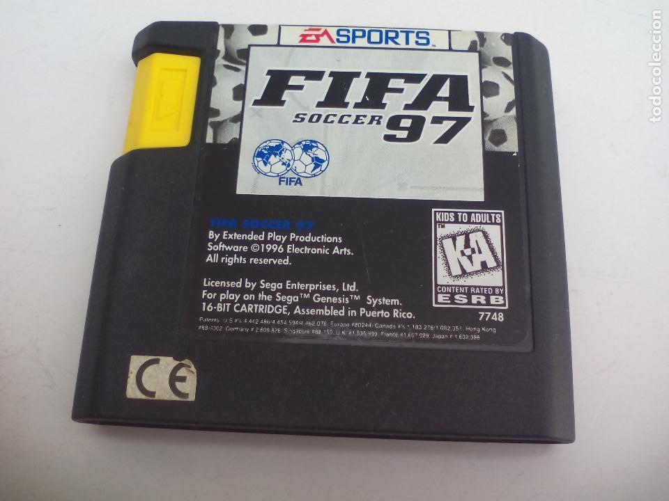 FIFA 97 SOCCER. FUTBOL. JUEGO PARA LA CONSOLA SEGA MEGA DRIVE. MEGADRIVE. (Juguetes - Videojuegos y Consolas - Sega - MegaDrive)