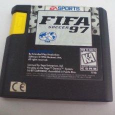 Videojuegos y Consolas: FIFA 97 SOCCER. FUTBOL. JUEGO PARA LA CONSOLA SEGA MEGA DRIVE. MEGADRIVE.. Lote 111326671