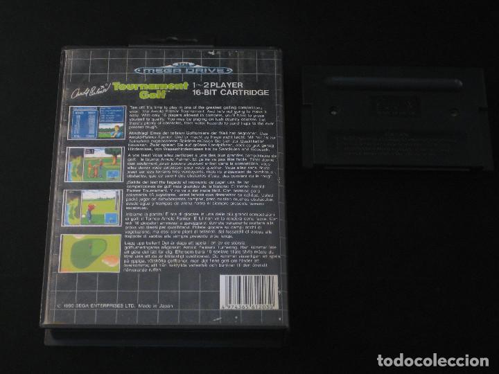 Videojuegos y Consolas: SEGA Megadrive Mega Drive - Arnol Palmer Tournament Golf PAL EUR - Foto 2 - 112269299