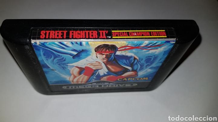 Videojuegos y Consolas: Street Fighter II 2 Special Champion Edition Sega Megadrive - Foto 2 - 112728235