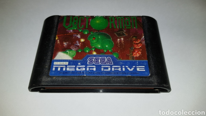 SEGA MEGADRIVE VECTORMAN JUEGO PARA MEGA DRIVE (Juguetes - Videojuegos y Consolas - Sega - MegaDrive)