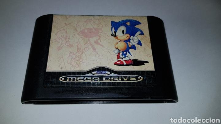MEGADRIVE JUEGO SONIC THE HEDGEHOG PARA SEGA MEGA DRIVE (Juguetes - Videojuegos y Consolas - Sega - MegaDrive)