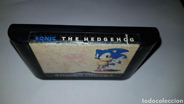 Videojuegos y Consolas: Megadrive Juego Sonic the Hedgehog para Sega Mega drive - Foto 2 - 116981872