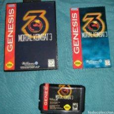 Videojuegos y Consolas: MORTAL KOMBAT 3 COMPLETO SEGA MEGA DRIVE MEGADRIVE GENESIS REPRO. Lote 113278306