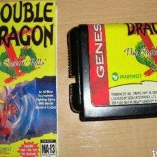 Videojuegos y Consolas: DOUBLE DRAGON V THE SHADOW FALLS SEGA MEGA DRIVE MEGADRIVE GENESIS REPRO. Lote 113288232