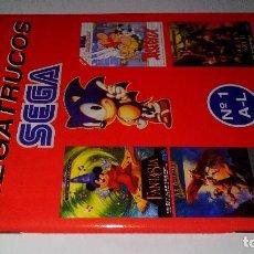 Videojuegos y Consolas: LOS MEGATRUCOS SEGA-Nº 1-A-L-MEGA FORCE. Lote 113442115