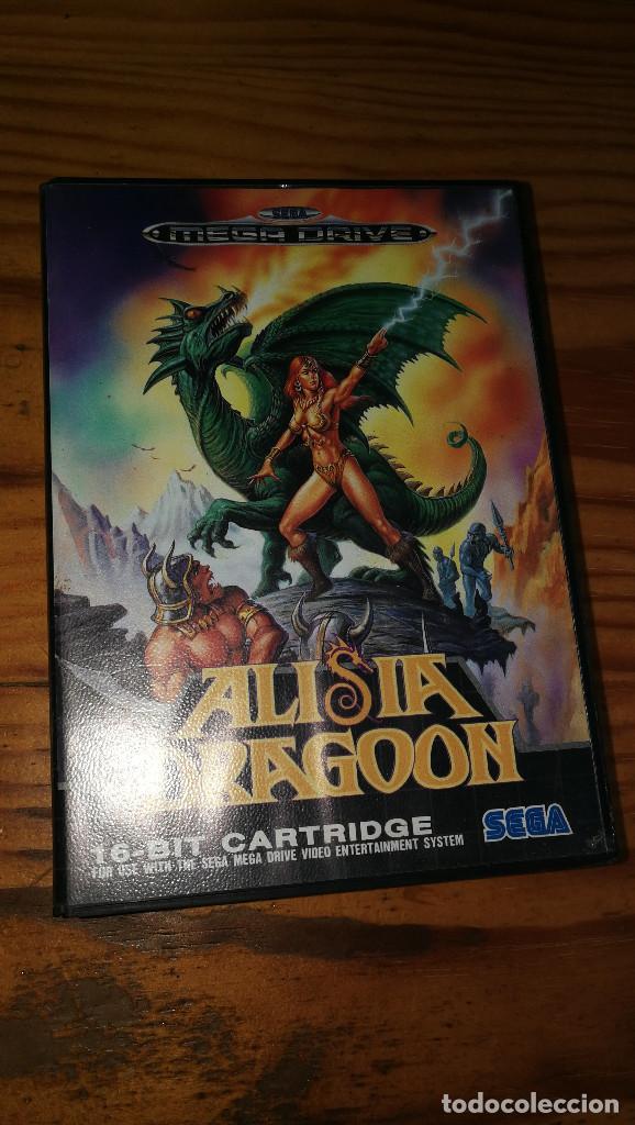 ALISIA DRAGOON. (Juguetes - Videojuegos y Consolas - Sega - MegaDrive)