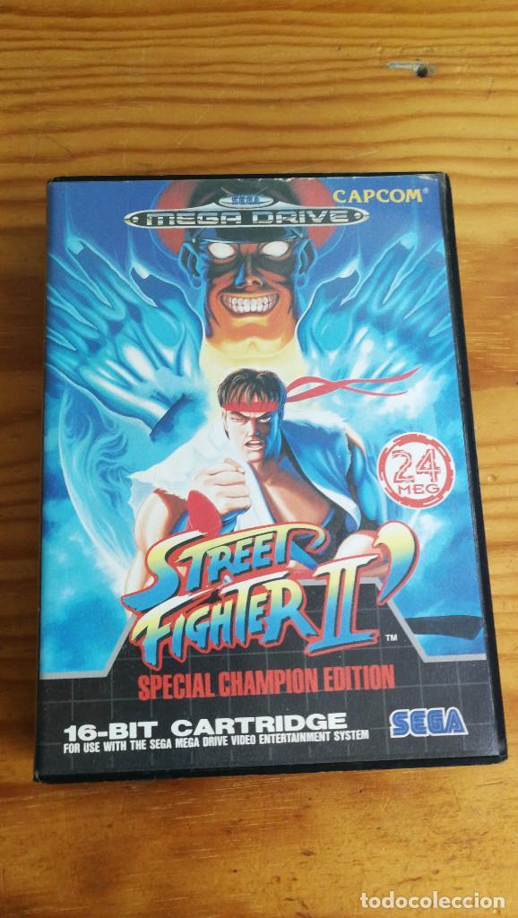 STREET FIGHTER II SPECIAL CHAMPION EDITION,COMPLETO Y FUNCIONANDO PERFECTAMENTE. (Juguetes - Videojuegos y Consolas - Sega - MegaDrive)