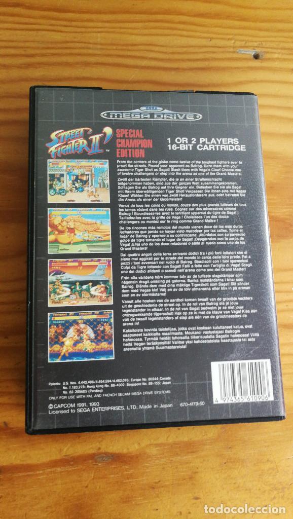 Videojuegos y Consolas: STREET FIGHTER II SPECIAL CHAMPION EDITION,COMPLETO Y FUNCIONANDO PERFECTAMENTE. - Foto 2 - 113982419