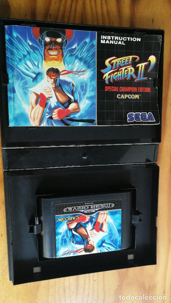 Videojuegos y Consolas: STREET FIGHTER II SPECIAL CHAMPION EDITION,COMPLETO Y FUNCIONANDO PERFECTAMENTE. - Foto 3 - 113982419