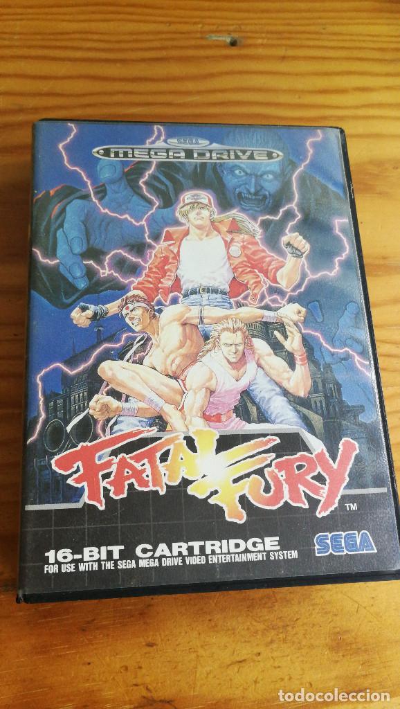 FATAL FURY. COMPLETO Y FUNCIONANDO PERFECTAMENTE. (Juguetes - Videojuegos y Consolas - Sega - MegaDrive)