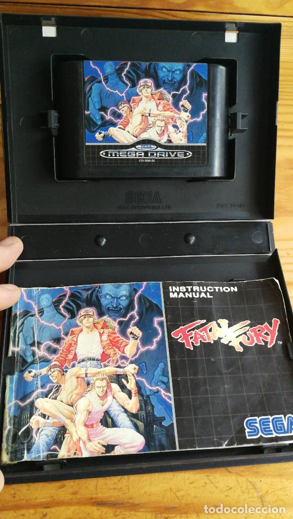 Videojuegos y Consolas: FATAL FURY. COMPLETO Y FUNCIONANDO PERFECTAMENTE. - Foto 3 - 113982643