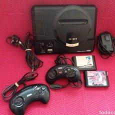 Videojuegos y Consolas: CONSOLA MEGA DRIVE SEGA 16 BIT NO FUNCIONA MANDOS Y JUEGOS. Lote 114309182