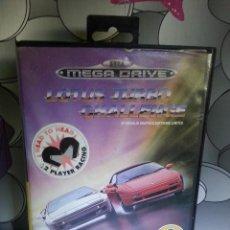 Videojuegos y Consolas: JUEGO SEGA MEGADRIVE LOTUS TURBO CHALLENGE MEGA DRIVE . Lote 114868651