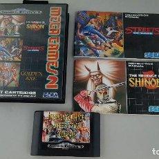 Videojuegos y Consolas: MEGA GAMES 2 - CARTUCHO CON TRES JUEGOS DE MEGA DRIVE. Lote 114984427