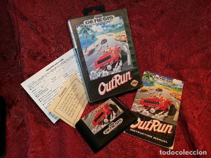 Outrun Out Run Juego Para Sega Genesis Megadriv Comprar