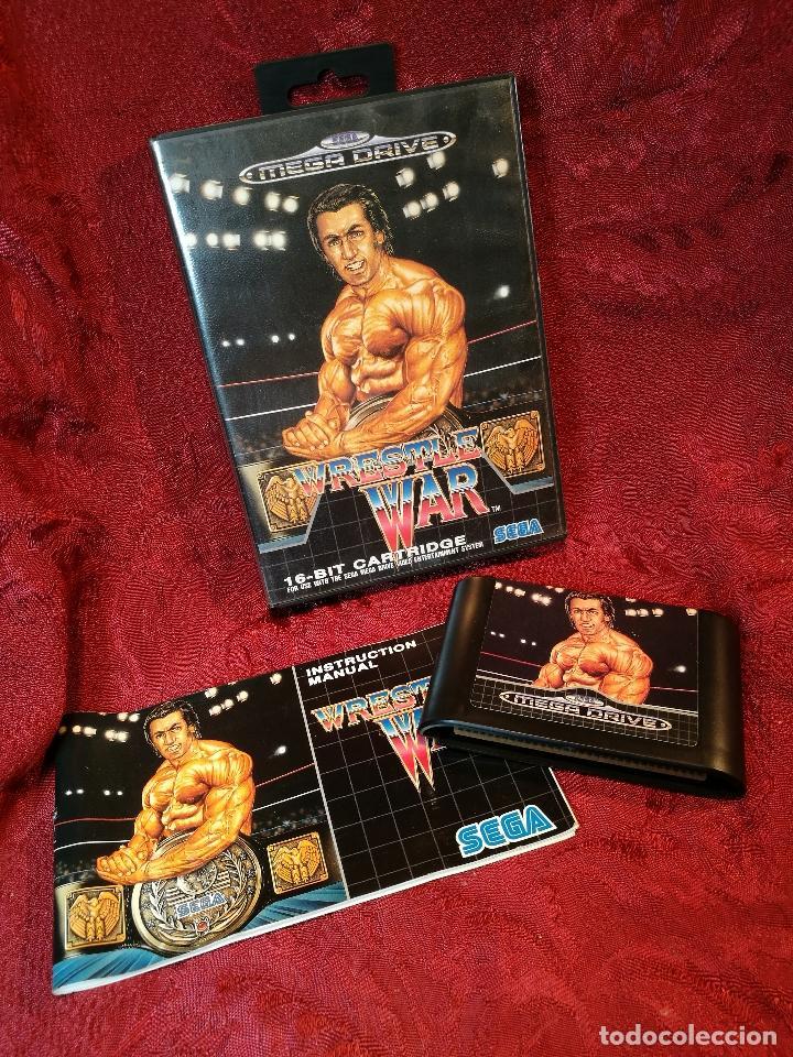 Wrestle War Juego Para Sega Genesis Megadrive Comprar Videojuegos