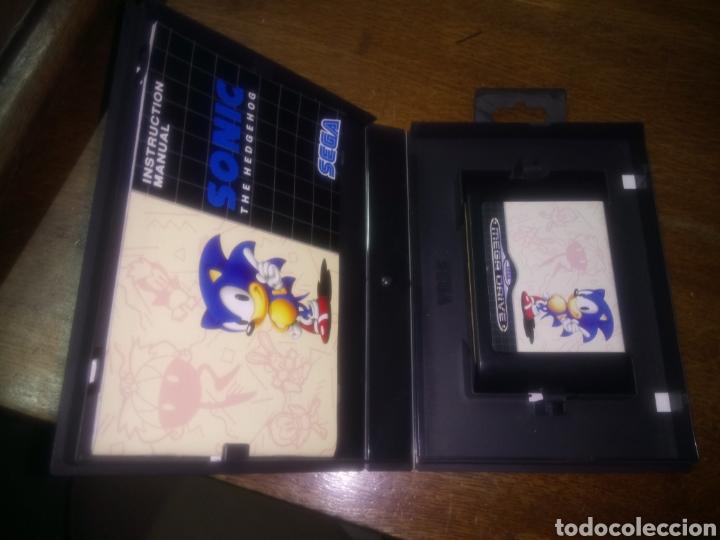 Videojuegos y Consolas: Juego de mega drive, sonic completo, caja y con libro de instrucciones - Foto 3 - 115325735