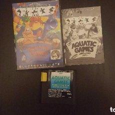Videojuegos y Consolas: AQUATIC GAMES COMPLETO MEGADRIVE SEGA MEGA DRIVE . Lote 115632251