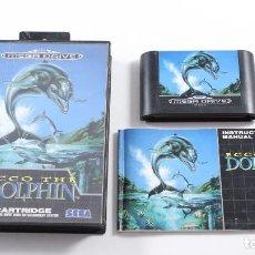 Videojuegos y Consolas: SEGA MEGADRIVE - ECCO THE DOLPHIN - COMPLETO - PAL ESP. Lote 117896947