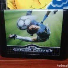 Videojuegos y Consolas: WORLD CUP ITALIA 90 - SEGA MEGA DRIVE - PAL - CARTUCHO - FUTBOL. Lote 196824396