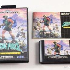 Videojuegos y Consolas: SEGA MEGADRIVE - SHINNING FORCE - COMPLETO - PAL ESP . Lote 118425431
