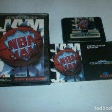 Videojuegos y Consolas: NBA JAM MEGADRIVE PAL COMPLETO . Lote 118856427