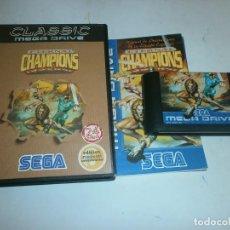 Videojuegos y Consolas: ETERNAL CHAMPIONS MEGADRIVE PAL COMPLETO . Lote 118856527
