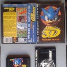 Videojuegos y Consolas: JUEGO SEGA MEGA DRIVE SONIC 3D FLICKIES ISLAND + CAJA Y MANUAL COMPLETO CIB PAL R7429. Lote 119118995