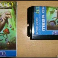 Videojuegos y Consolas: ECCO THE TIDES OF TIME SEGA MEGA DRIVE MEGADRIVE GENESIS REPRO. Lote 119145464