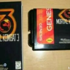 Videojuegos y Consolas: MORTAL KOMBAT 3 SEGA MEGA DRIVE MEGADRIVE GENESIS REPRO. Lote 119145660