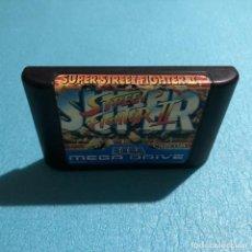 Videojuegos y Consolas: JUEGO SUPER STREET FIGHTER II CARTUCHO SEGA MEGA DRIVE. Lote 119152123