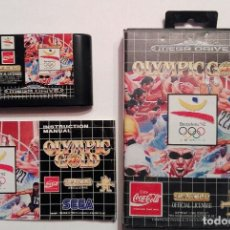 Videojuegos y Consolas: OLYMPIC GOLD - SEGA MEGA DRIVE - 16 BIT . Lote 119312195