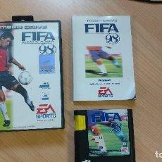 Videojuegos y Consolas: JUEGO CONSOLA MEGADRIVE MEGA DRIVE SEGA FIFA 1998 98 SOCCER FUTBOL RAUL ESPAÑA REAL MADRID. Lote 119456771