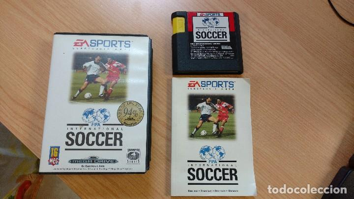 JUEGO CONSOLA MEGADRIVE MEGA DRIVE SEGA FIFA SOCCER (Juguetes - Videojuegos y Consolas - Sega - MegaDrive)