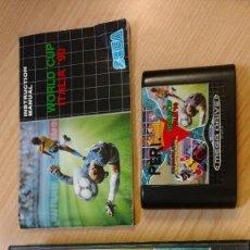 Videojuegos y Consolas: JUEGO CONSOLA MEGADRIVE MEGA DRIVE SEGA MEGA GAMES 1 I WORLD CUP ITALIA 90 COLUMNS SUPER HANG ON . Lote 119457123