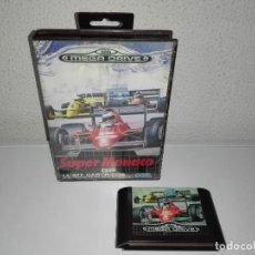 Videojuegos y Consolas: JUEGO SEGA MEGA DRIVE MEGADRIVE SUPER MONACO. Lote 120729011