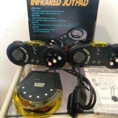 Videojuegos y Consolas: SUPER ARNO 2 MANDOS INALAMBRICO NUEVO A ESTRENAR INFRARED JOYPAD NEW IRJ-200S SEGA MEGA DRIVE. Lote 120735847