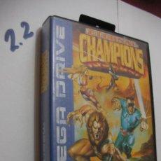 Videojuegos y Consolas: ANTIGUO JUEGO SEGA MEGADRIVE - ETERNAL CHAMPIONS - EDICION ESPECIAL. Lote 121170927