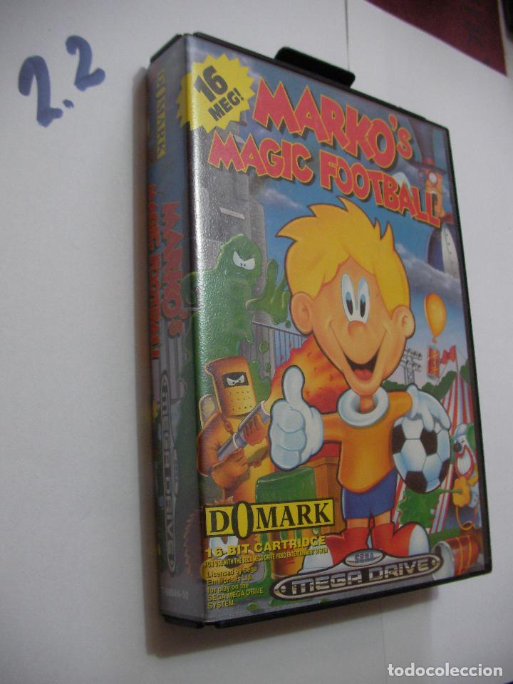 ANTIGUO JUEGO SEGA MEGADRIVE - MARKO´S MAGIC FOOTBALL (Juguetes - Videojuegos y Consolas - Sega - MegaDrive)