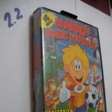 Videojuegos y Consolas: ANTIGUO JUEGO SEGA MEGADRIVE - MARKO´S MAGIC FOOTBALL. Lote 121171095