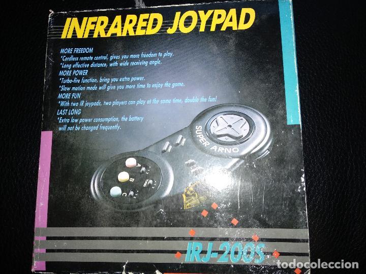 SUPER ARNO MANDO INALAMBRICO NUEVO A ESTRENAR INFRARED JOYPAD NEW IRJ-200S SEGA MEGA DRIVE (Juguetes - Videojuegos y Consolas - Sega - MegaDrive)