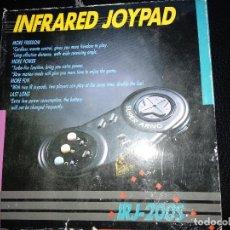 Videojuegos y Consolas: SUPER ARNO MANDO INALAMBRICO NUEVO A ESTRENAR INFRARED JOYPAD NEW IRJ-200S SEGA MEGA DRIVE. Lote 121199799