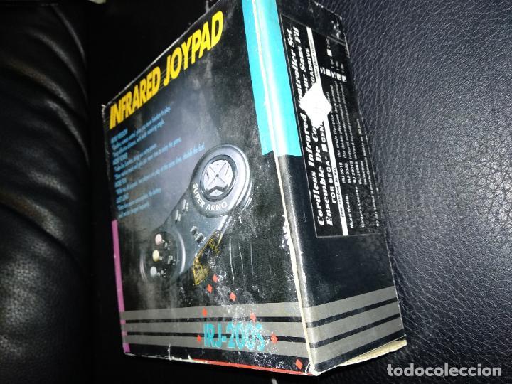 Videojuegos y Consolas: super arno mando inalambrico nuevo a estrenar infrared joypad new irj-200s sega mega drive - Foto 3 - 121199799