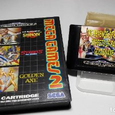 Videojuegos y Consolas: MEGA GAMES 2 ( SEGA MEGA DRIVE - PAL- EURO). Lote 121557511