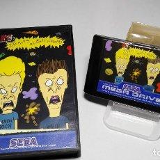 Videojuegos y Consolas: BEAVIS AND BUTT- HEAD ( SEGA MEGA DRIVE - PAL- EURO). Lote 121557527
